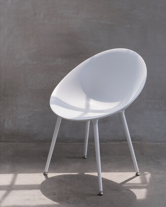 Lagoon Pavone Modern Chair, White