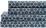 California Design Den by NMK Star Cotton Sheet Set - Blue