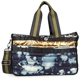 Think Royln Lil Daddy Tie-Dye Quilted Weekender Bag