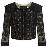 Andrew Gn Embellished Crop Jacket