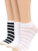 Gold Toe 3-pc. No Show Socks