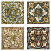Aurora Decorative Wall Panels - Set of 4