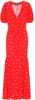 Rotate by Birger Christensen Floral crepe midi dress