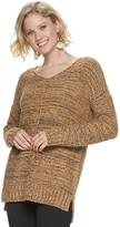Sonoma Goods For Life Women's SONOMA Goods for Life Marled V-neck Sweater