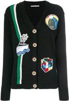 Marco De Vincenzo patch cardigan - women - Cotton - 40
