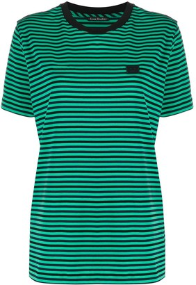 Acne Studios Breton-stripe T-shirt