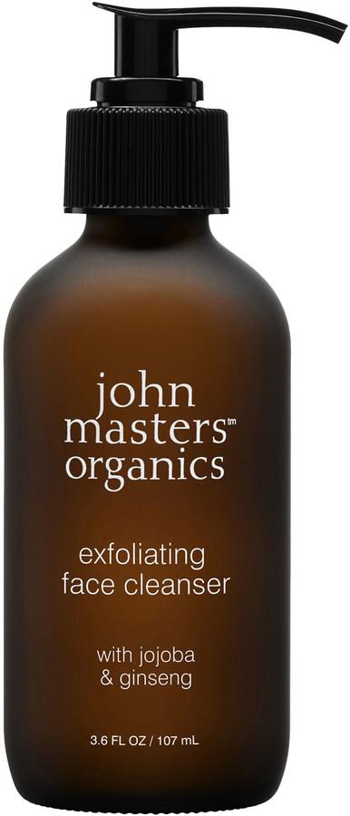 John Masters Organics Exfoliating Face Cleanser With Jojoba & Ginseng 107Ml