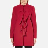 Moschino Women's Frill Jacket Red