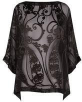 eskandar Silk Devoré Tunic