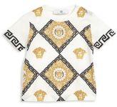 Versace Baby's Mailoiche Logo & Greca Print T-Shirt