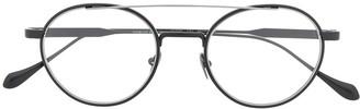 Giorgio Armani Logo Round Glasses