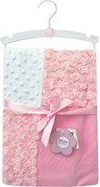 Baby Essentials Baby Girl Soft Multi-pattern Blanket