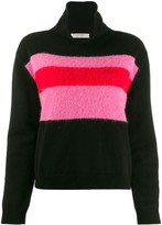 Chinti and Parker colour-block turtleneck jumper