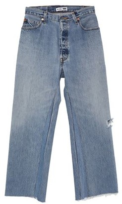 RE/DONE with LEVI'S Denim pants