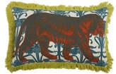 Thomas Paul Tiger Pillow - Aqua