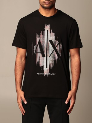 Armani Exchange T-shirt With Big Logo