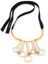 Marni Resin & Leather Necklace