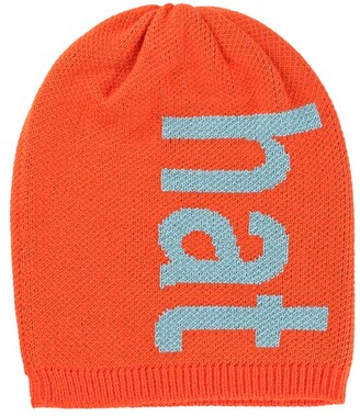 Verloop Typography Hat Poppy