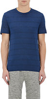 Theory Men's Gaskell N. Striped T-Shirt-BLUE