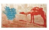 Fauna Balsa Wall Hanging - Camel V. 2