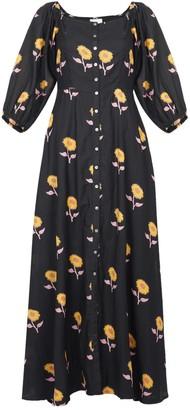 Em & Shi Sunflower Buttoned Dress