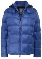 Geox Hooded Puffer Down Jacket