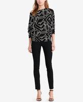 Lauren Ralph Lauren Petite Printed Sweater