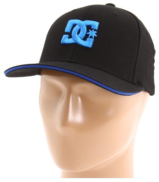 DC Jamal 6 (Black/Directoire Blue) - Hats