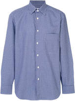 Brioni checked shirt