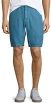 John Varvatos Five-Pocket Linen Shorts