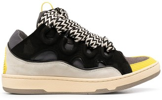 Lanvin Colour-Block Sneakers