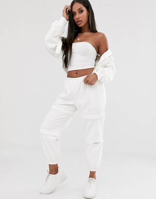 My Mum Made It relaxed zip off cargo pants in cord two-piece