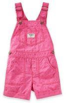 Osh Kosh Heart Print Shortall in Pink