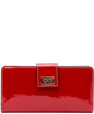 Frances Valentine Slim Leather Wallet