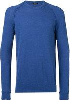 Roberto Collina ribbed trim sweatshirt - men - Cotton/Polyamide - 48
