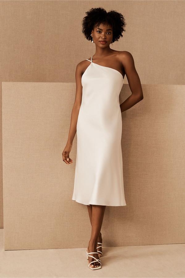 Amsale Finnley Satin Dress