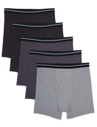 Amazon Essentials Men's Big & Tall 5-Pack Tag-Free Boxer Briefs Underwear