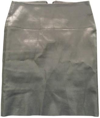 Jitrois Black Leather Skirts