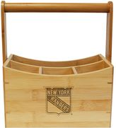 New York Rangers Bamboo Utensil Caddy