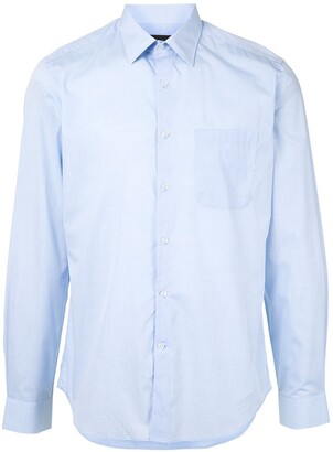 Durban Front Pocket Cotton Shirt