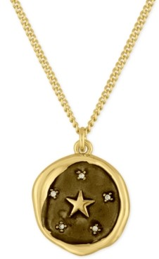 Rachel Roy Gold-Tone Star Pendant Necklace
