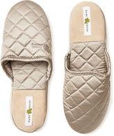 Kumi Kookoon Silk Slippers, Pebble