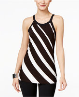 INC International Concepts Petite Striped Halter Top, Only at Macy's