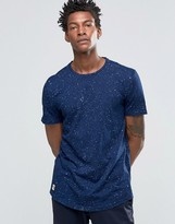Celio Crew Neck T-shirt With All Over Space Print