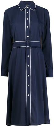 Polo Ralph Lauren Piped Trim Dress