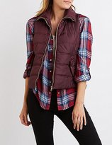 Charlotte Russe Quilted Puffer Vest