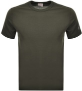 Champion Crew Neck T Shirt Green