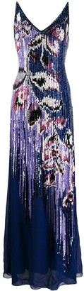 Emilio Pucci Sequin Embellished Peony Dress