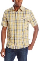 Dakota Grizzly Men's Sawyer Short Sleeve Plaid Shirt