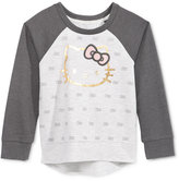 Hello Kitty Long-Sleeve Graphic-Print Top, Toddler Girls (2T-5T) & Little Girls (2-6X)